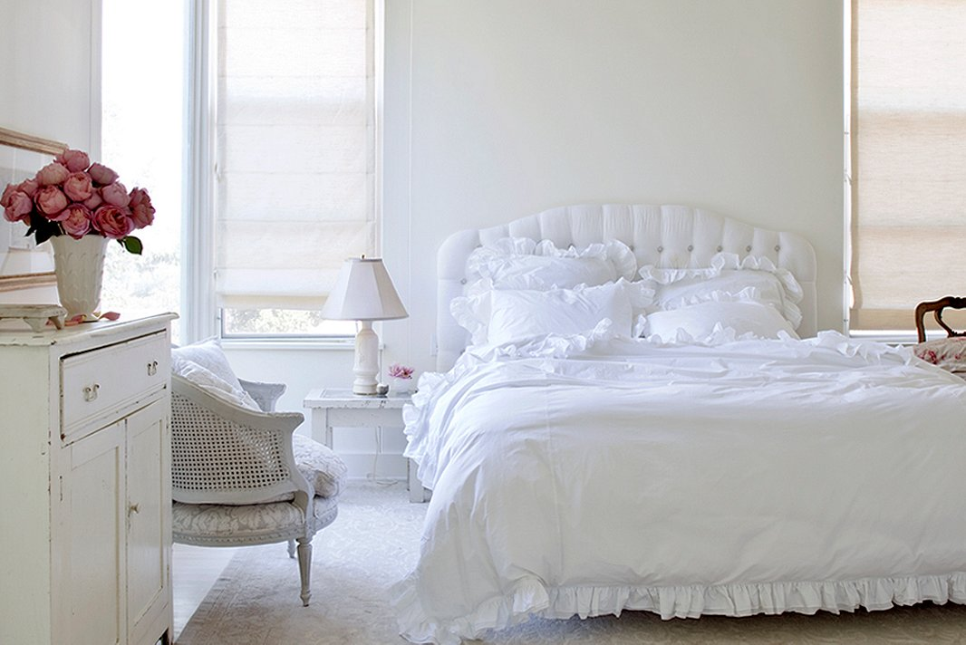 Painted Bedrooms. Photo by Amy Neunsinger  Trunk Archive Design 6 Bedroom Paint Colors for a Dream Boudoir