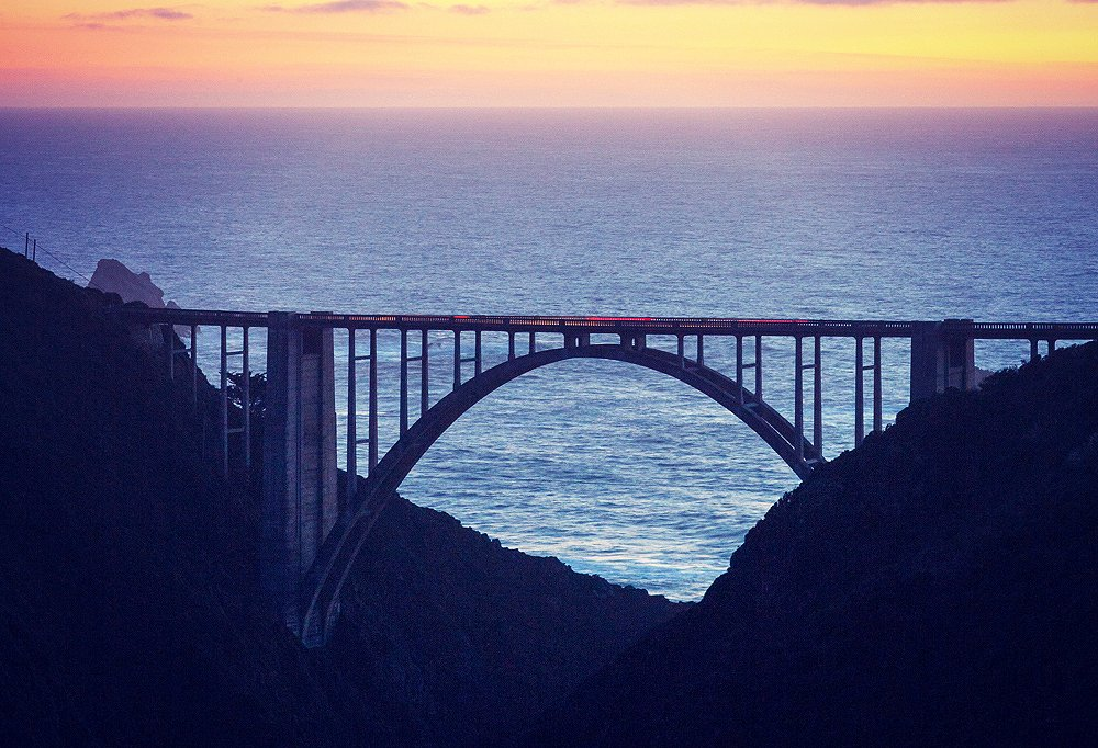 Bixby Creek Bridge in all its glory (photo by Brown W. Cannon III).