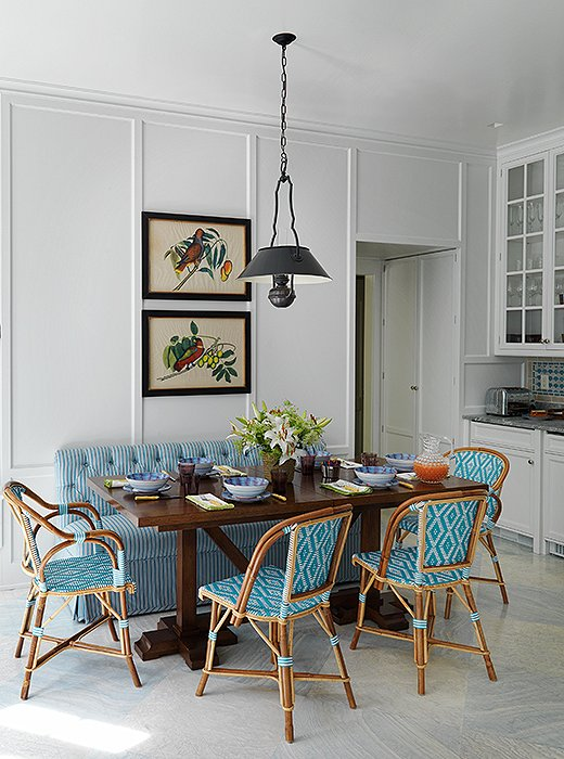 Trend spotted french bistro chairs in the kitchen workwithnaturefo