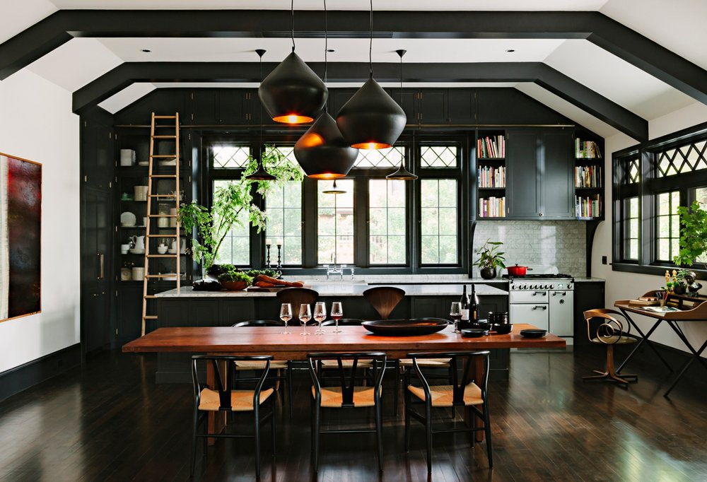 Black Walls beyond-gorgeous black rooms -- one kings lane