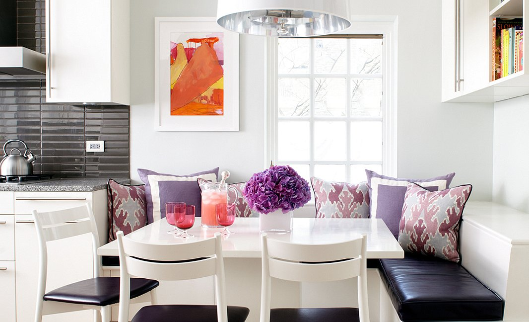 photo courtesy meredith corporation - Breakfast Nook Ideas