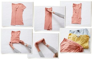 Hereu0027s The Basic KonMari Vertical Fold, Which Can Be Applied To Everything  From T