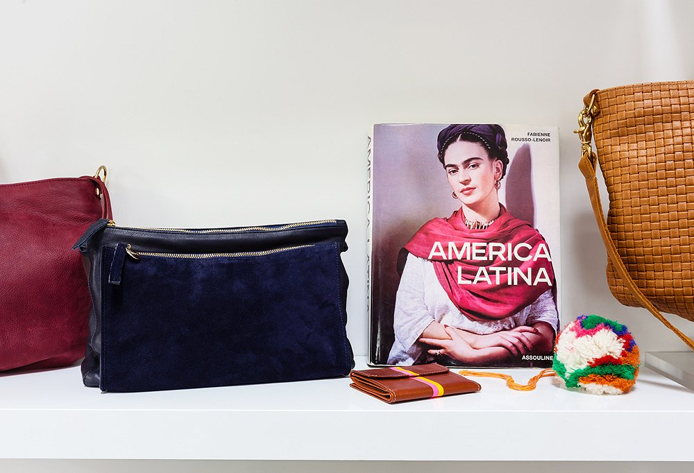 Clare's known for bringing books into the studio that inspire her, like Assouline's gorgeous America Latina.