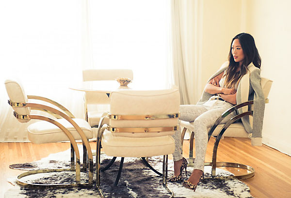 The Coveteur Interior designer and major blogger babe Aimee Song ...