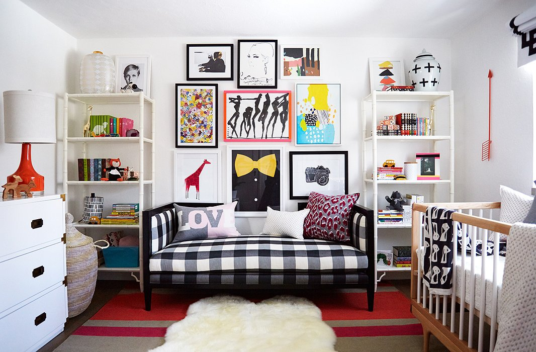 Our nursery makeover for coco rocha 39 s baby for Celebrity kids bedroom designs