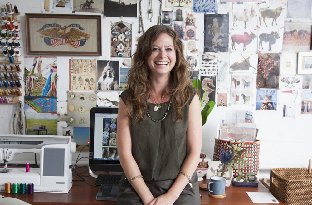"""When a designer can grow into a business, it's amazing,"" says Housley. ""You have to own it. Every little part of it. And find your own way through. But in the morning I wake up and am so thrilled that I'm making a living doing what I love."""