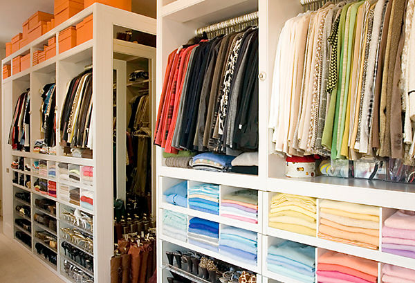 Organizing a Closet with Clos-ette's Melanie Fascitelli