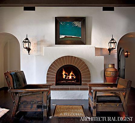 A Cozy Fireside Seat