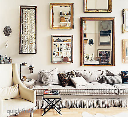 10 Ideas For Decorating With Mirrors Stance Studies On The Family