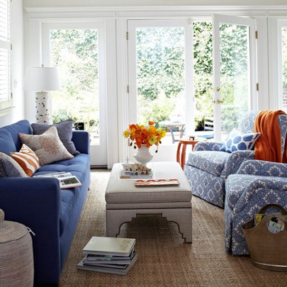 Modern takes on english country for English living room ideas