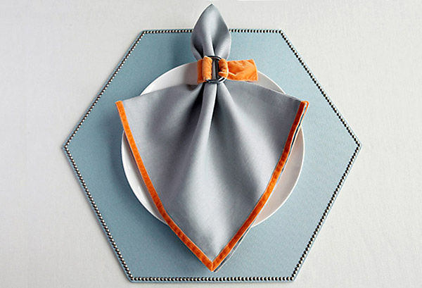Spade-Shape Fold