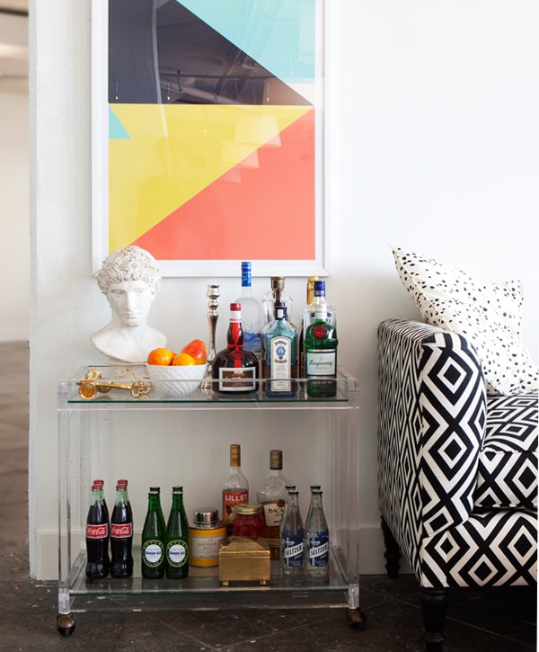 Bar Decorating Ideas: The Essential Guide To Bar Carts -- One Kings Lane