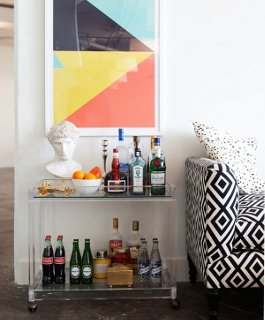 No Matter Your Decor, Thereu0027s A Bar Cart To Match.