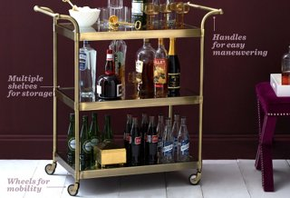 Superb The Essential Guide To Bar Carts