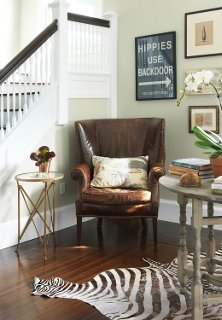To Warm Up Your Entryway & The Essential Guide to the Wingback Chair -- One Kings Lane