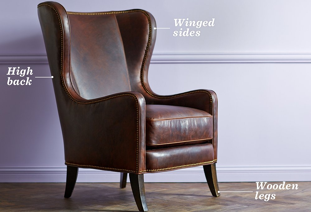The essential guide to the wingback chair one kings lane - High back wing chairs for living room ...