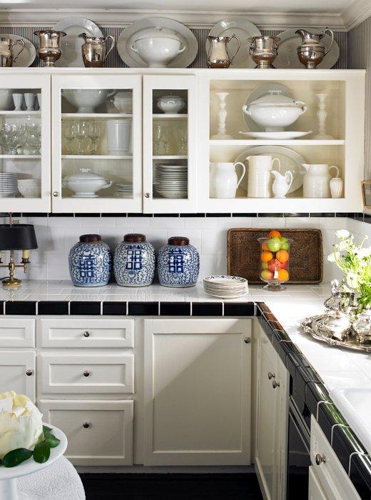 White Kitchen Jars trend spotted: ginger jars -- one kings lane