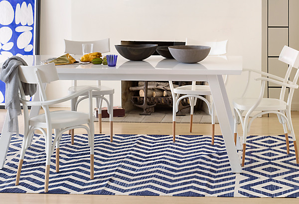 LaShaun Cadney  Would you recommend a rug under a dining room table. Ask Genevieve Gorder