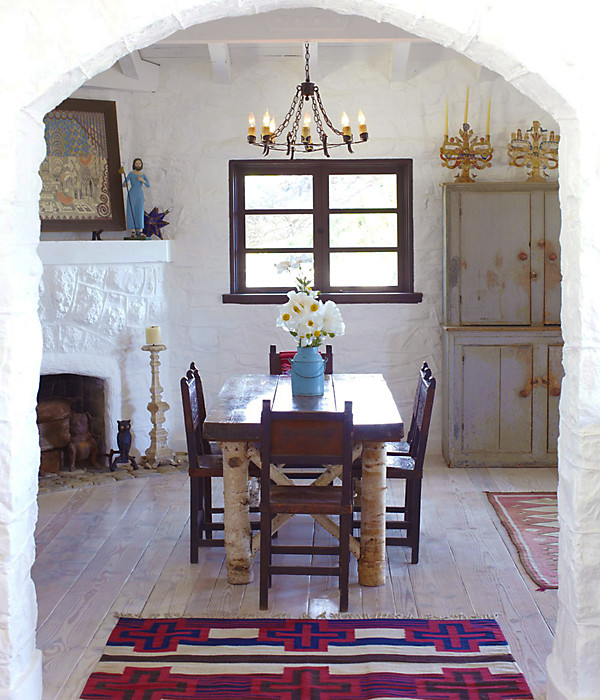 Spanish Style Dining Room: Gorgeous Ideas For Hacienda Style Homes -- One Kings Lane