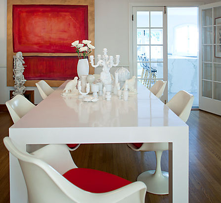 A High-Low Dining Room