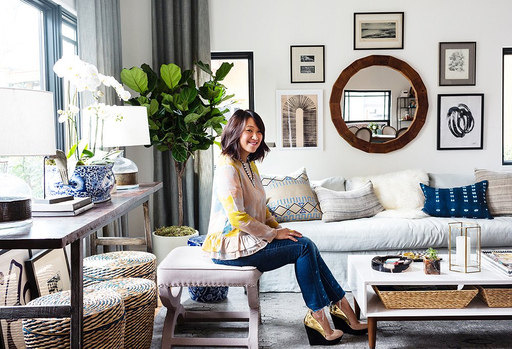Diary of a Room Makeover with Erica Chan Coffman of Honestly WTF