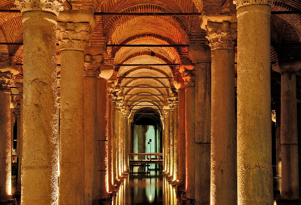 Visiting the epic underground Basilica Cistern was the moment Susan says she'll remember most. Photo courtesy of Basilica Cistern