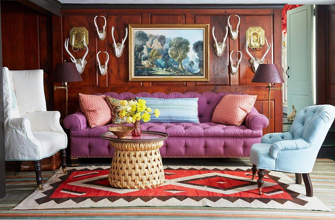 Jeffrey Bilhuber Custom Home Tour A Famed Designer's Farmhouse Decor Is So Chic Inspiration Design