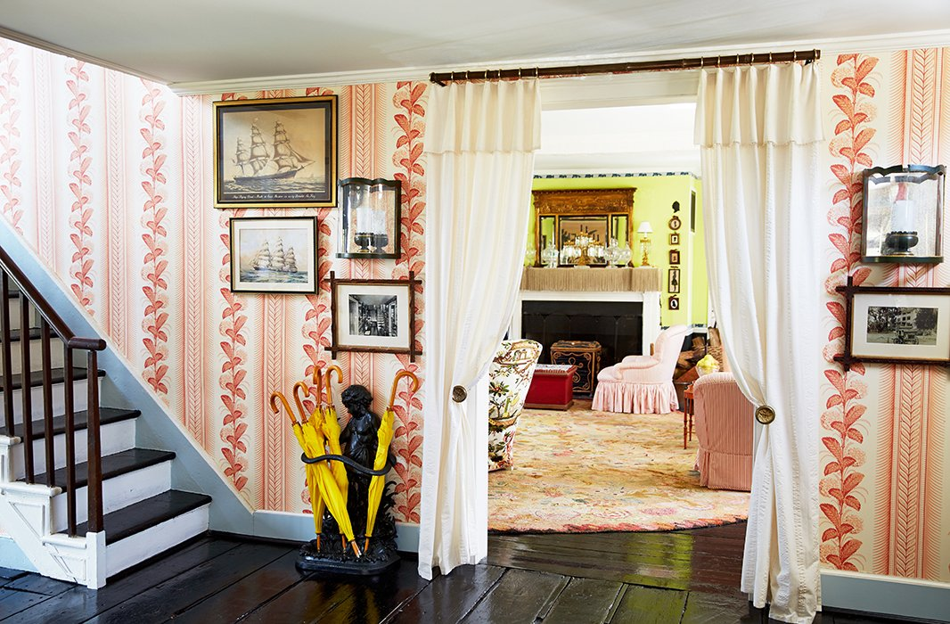 Jeffrey Bilhuber Awesome Home Tour A Famed Designer's Farmhouse Decor Is So Chic Inspiration