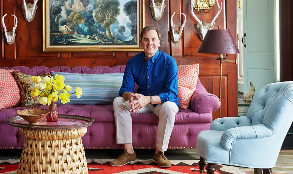 Jeffrey Bilhuber Inspiration Home Tour A Famed Designer's Farmhouse Decor Is So Chic Design Decoration