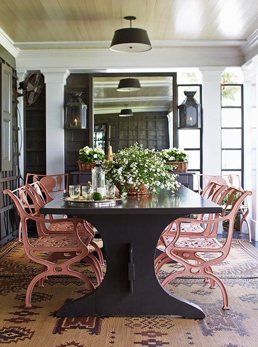Jeffrey Bilhuber Unique Home Tour A Famed Designer's Farmhouse Decor Is So Chic Inspiration Design