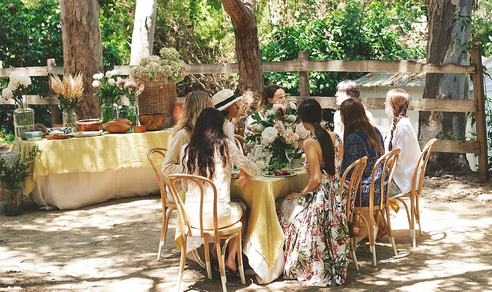 How Two LA It Girls Throw A Gorgeous Garden Party