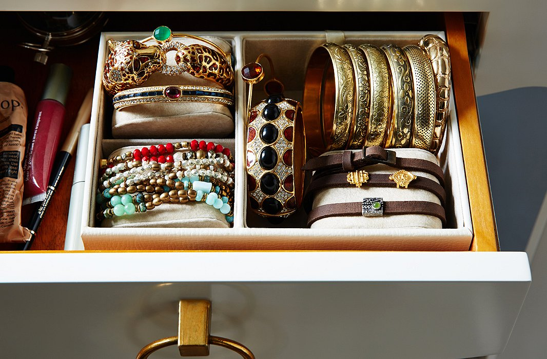 Hot Ideas For Organizing Jewelry One Kings Lane - Bangle bracelet storage ideas