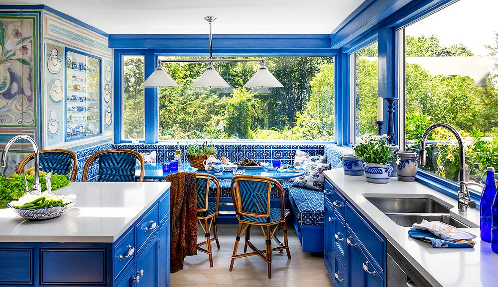 5 Fresh Kitchen Paint Colors One Kings Lane - Colored-kitchens