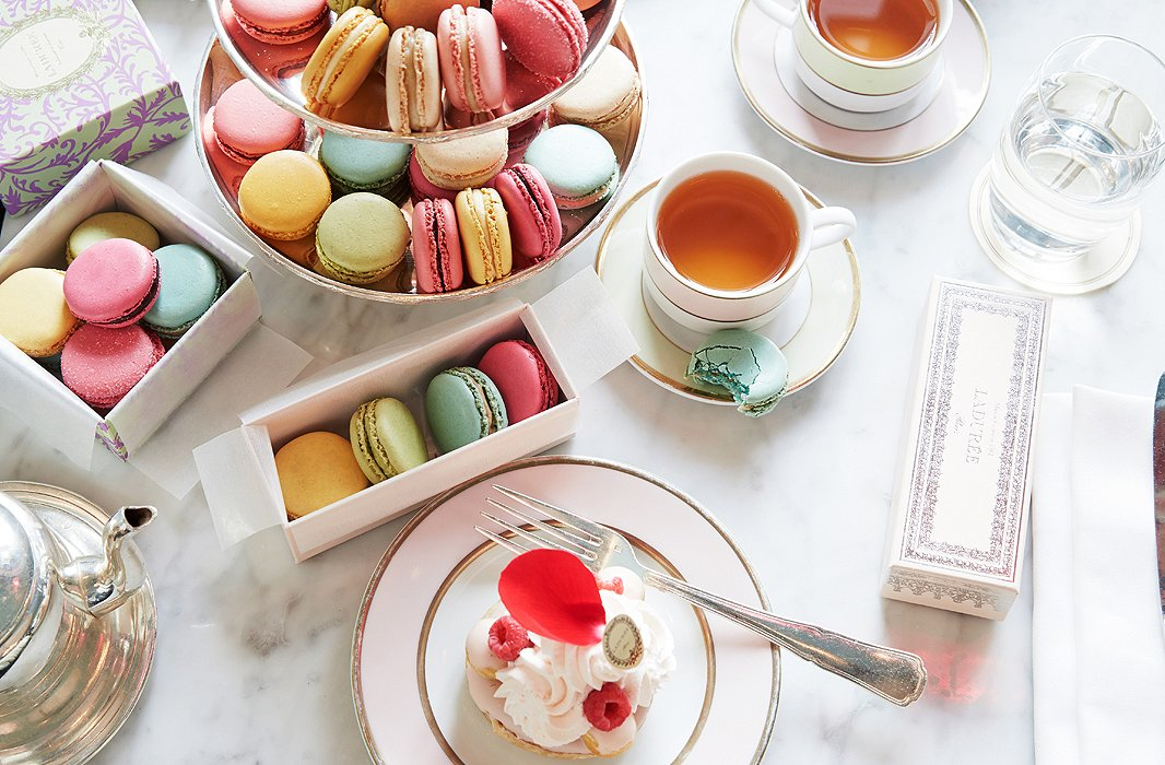 Bet you can't take just one bite! Ladurée's macaron flavors range from pistachio to tea to black currant to salted caramel.