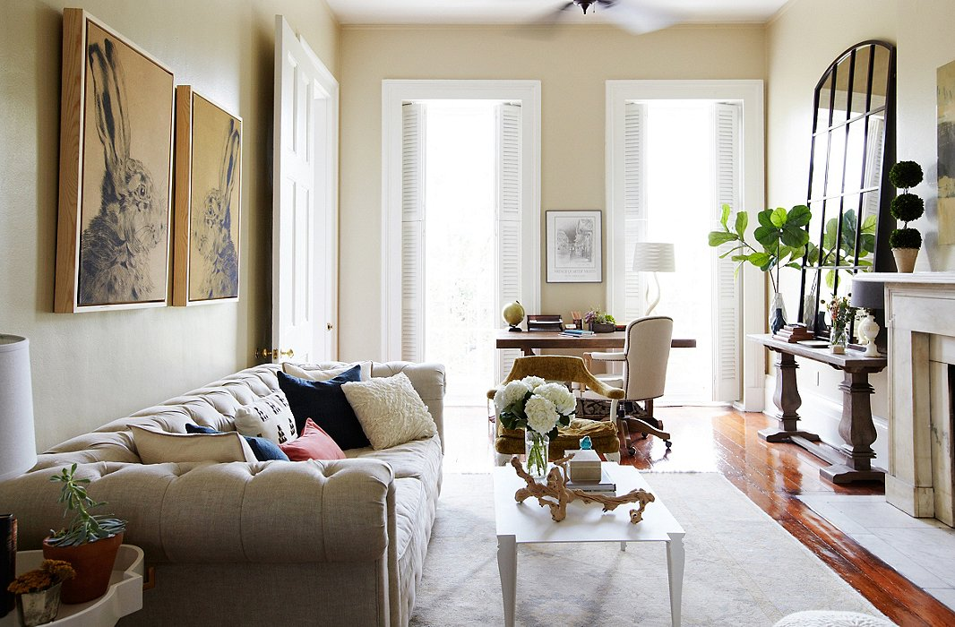 Inside one inspiring online decorating story one kings for Wolf laurel