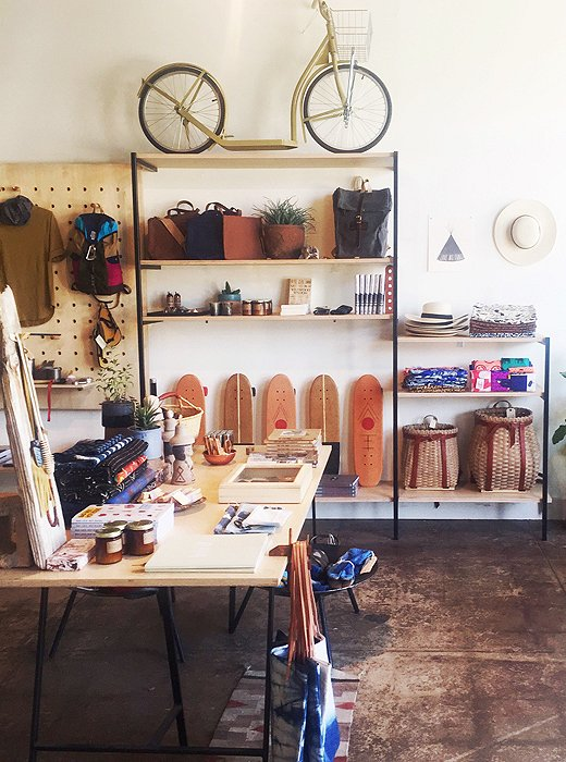Owned by two high-school friends, Reform School stocks a perfectly curated mix of cards, jewels, art, sunglasses, and vintage clothes.