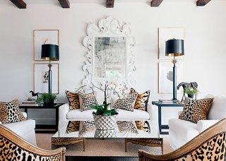 the five hottest ways to use leopard print rh onekingslane com leopard print living room leopard print chair living room furniture