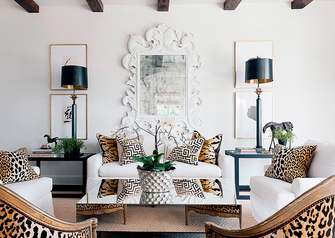 Photo by Jack ThompsonThe Five Hottest Ways to Use Leopard Print. Animal Print Living Room. Home Design Ideas