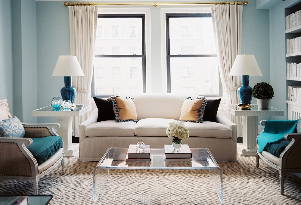 Photo by Lonny.com - Currently Loving: Lucite Furniture -- One Kings Lane