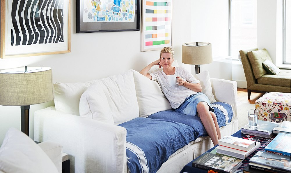 Peek Inside the Home of a Fashion Wiz and Debut Novelist