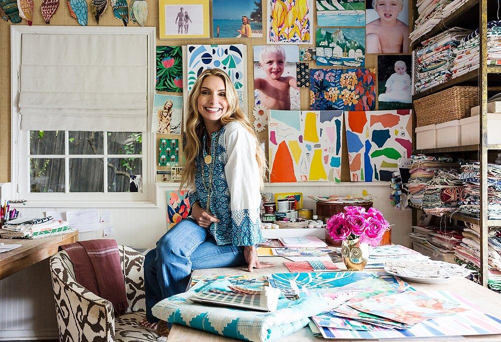 Inside The Exuberant And Elegant L A Home Of Lulu Dk