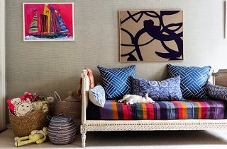 Shop Kidsu0027 Room Decor →. Graphic, Neutral Abstracts Are A Stylish Contrast  To Brighter, More Youthful Works. Photo