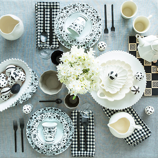 Two Spring Tablescapes Square Off  sc 1 st  One Kings Lane & Spring Table Settings