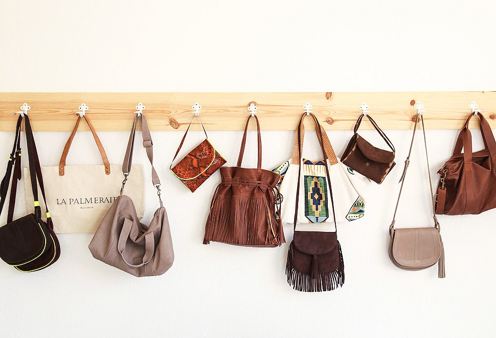 Susan became fast friends with the chic owner of Studio Lalla, whose equally chic bags combine cool-girl design with hand-tooled leather.