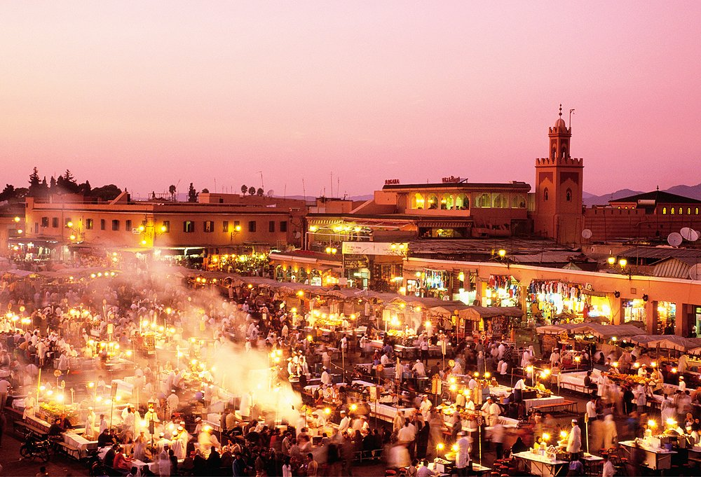 Markets in Marrakech are heady affairs full of sights and smells you won't soon forget.