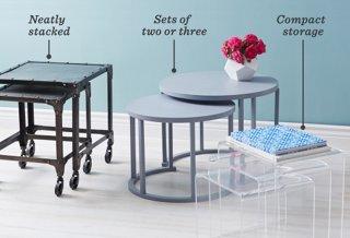 New 3 Piece Nesting Table Set
