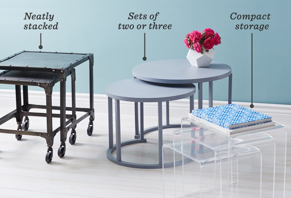 the essential guide to nesting tables -- one kings lane
