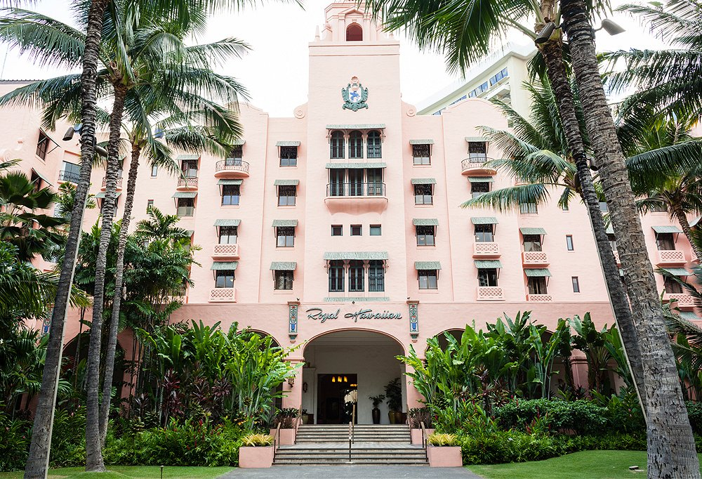Nicknamed The Pink Palace of the Pacific, The Royal Hawaiian has drawn sand-, surf-, and sun-seekers since its 1927 opening.