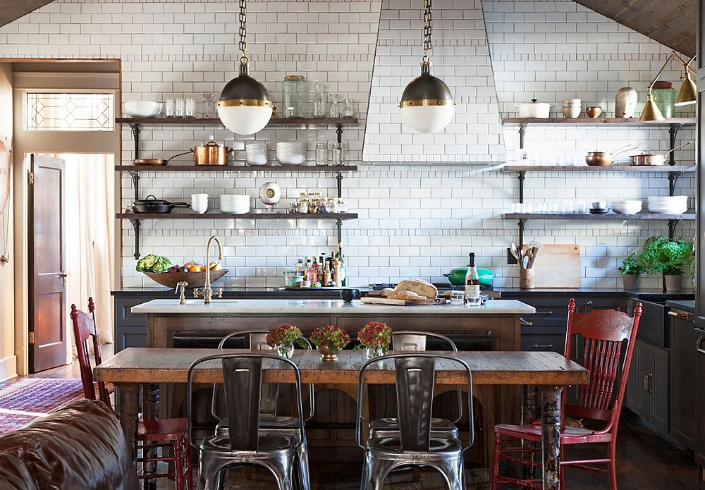 wood kitchen reclaimed shelving reveal home shelves for vintage love