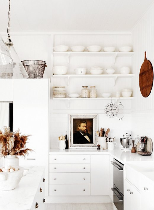 White Kitchen Shelf 10 gorgeous takes on open shelving in kitchens